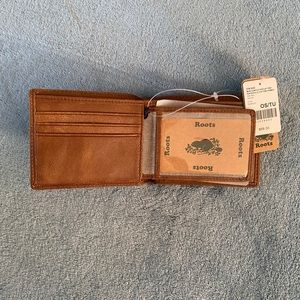 Mens Slimfold Wallet With Side Flap